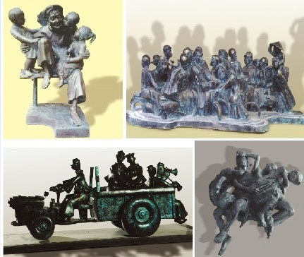 10 years to look at the development of Vietnam sculpture
